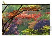 Trees In A Garden, Butchart Gardens Carry-all Pouch