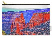 Trees Plateau Valley Color 2871ado National Monument  Carry-all Pouch