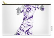 Trevor Story Colorado Rockies Pixel Art 9 Carry-all Pouch