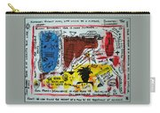 Tribute To Basquiat, Philosophy, And Activism Carry-all Pouch