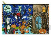 Trick Or Treat Halloween Cats Carry-all Pouch