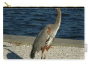 Tricolored Heron Portrait  Carry-all Pouch