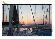 Trieste Sunset Carry-all Pouch by Helga Novelli