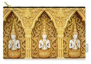 Triple Buddhas, Thailand Carry-all Pouch