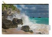 Tropical Beach Splash Carry-all Pouch