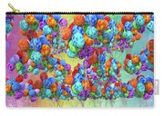 Tropical Print Balloons Carry-all Pouch