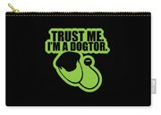 Trust Me Im A Dogtor Funny Vet Veterinarian Dog Lovers Gift Carry-all Pouch