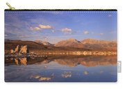 Tufa Shores At Dawn Carry-all Pouch by Sean Sarsfield