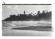 Tuna Punta Lighthouse Black And White Carry-all Pouch