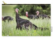 Turkey Flock Carry-all Pouch