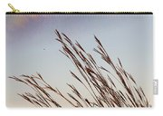 Turkey Foot Grass At Sunset Carry-all Pouch