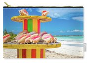 Turks And Caicos Conchs On A Spool Carry-all Pouch