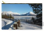 Turnagain Arm And Chugach Range From Sunrise Alaska Carry-all Pouch