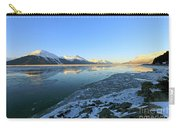Turnagain Arm In Winter Alaska Carry-all Pouch
