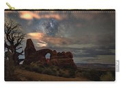 Turret Arch  And Tree Carry-all Pouch