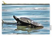 Turtles - Mother And Child Carry-all Pouch