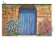 Tuscan Door, 16x20, Acrylic, 2018 Carry-all Pouch