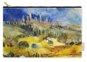 Tuscan Landscape - San Gimignano Carry-all Pouch