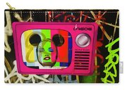 Tv Madonna On Air On Barcelona Walls  Carry-all Pouch