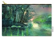 Twilight At The River Rhine Carry-all Pouch