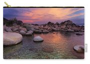 Twilight Canvas  Carry-all Pouch by Sean Sarsfield