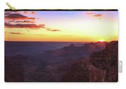 Twilight In The Canyon Carry-all Pouch