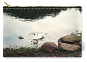 Twilight Swan Carry-all Pouch