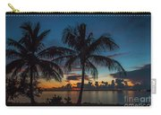 Twin Palms Sunrise Carry-all Pouch by Tom Claud