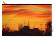 Twin Peaks Silhouette H1840 Carry-all Pouch by Mark Myhaver