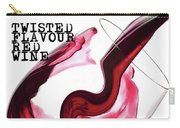Twisted Flavour Red Wine Carry-all Pouch by ISAW Company
