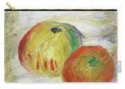 Two Apples, 1875 Carry-all Pouch