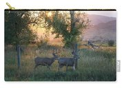 Two Deer Sunset Carry-all Pouch
