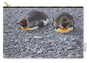 Two King Penguins By Alan M Hunt Carry-all Pouch by Alan M Hunt
