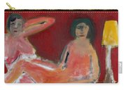 Two Nudes By A Lamp Carry-all Pouch