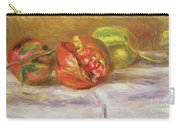 Two Pomegranates Carry-all Pouch