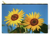 Two Sunflowers Carry-all Pouch