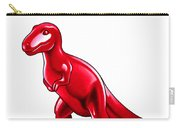 Tyrannosaurus Cartoon Carry-all Pouch