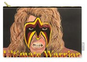 Ultimate Warrior Writing Version Carry-all Pouch