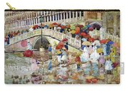 Umbrellas In The Rain - Digital Remastered Edition Carry-all Pouch