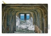 Under The Pier Manhattan Carry-all Pouch by Michael Hope