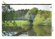 Union Chain Bridge At Horncliffe On River Tweed Carry-all Pouch