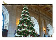Union Station Decorates For Christmas In Kansas City Carry-all Pouch