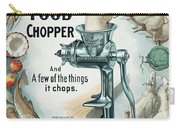 Universal Food Chopper No. 2  1899 Carry-all Pouch