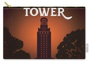 University Of Texas Tower Carry-all Pouch