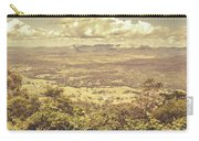Up Above The Land Down Under Carry-all Pouch