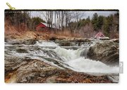 Upper Cox Brook Fall Covered Bridge Carry-all Pouch