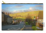 Upper Wensleydale From Hawes Yorkshire Dales National Park Carry-all Pouch