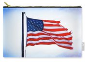 U.s. Flag 5 Carry-all Pouch