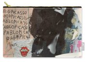 Uschi Obermaier Kommune 1 - Plakative Collage Carry-all Pouch