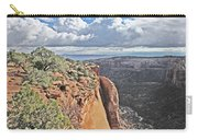Valley Colorado National Monument Sky Clouds 2892 Carry-all Pouch